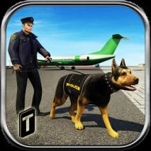 Airport Police Dog Duty Sim dvd cover