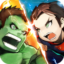 Superhero Brawl dvd cover