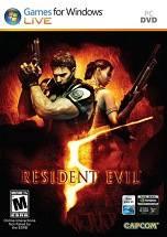 Resident Evil 5 dvd cover