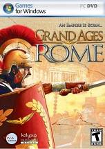 Grand Ages: Rome dvd cover