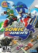 Sonic Riders dvd cover
