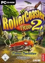 RollerCoaster Tycoon 2 dvd cover