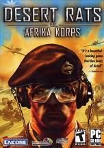 Desert Rats vs. Afrika Korps dvd cover