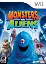 Monsters vs. Aliens dvd cover