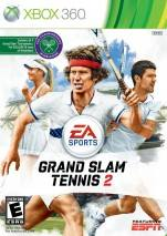 Grand Slam Tennis 2 dvd cover