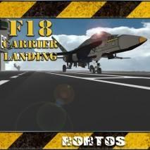 F18 Carrier Landing dvd cover