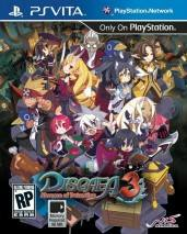 Disgaea 3: Absence of Detention dvd cover