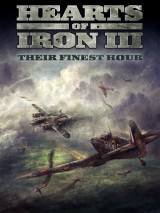 Hearts of Iron III: Their Finest Hour dvd cover