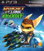 Ratchet & Clank: Full Frontal Assault dvd cover