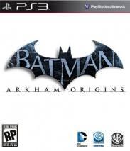 Batman: Arkham Origins dvd cover
