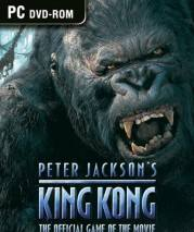 Peter Jackson's King Kong: The Official Game of the Movie dvd cover