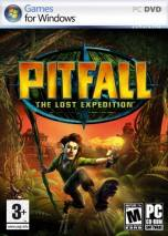 Pitfall: The Lost Expedition dvd cover