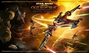 Star Wars: The Old Republic - Galactic Starfighter poster