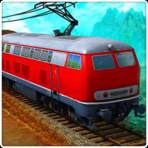 Train simulator 3D dvd cover