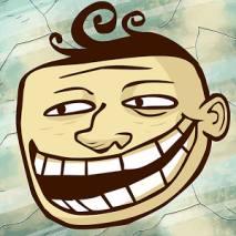 Troll Face Quest Unlucky dvd cover