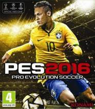 Pro Evolution Soccer 2016 cd cover